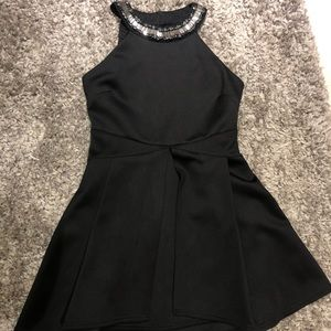 Black Bebe Cocktail Dress